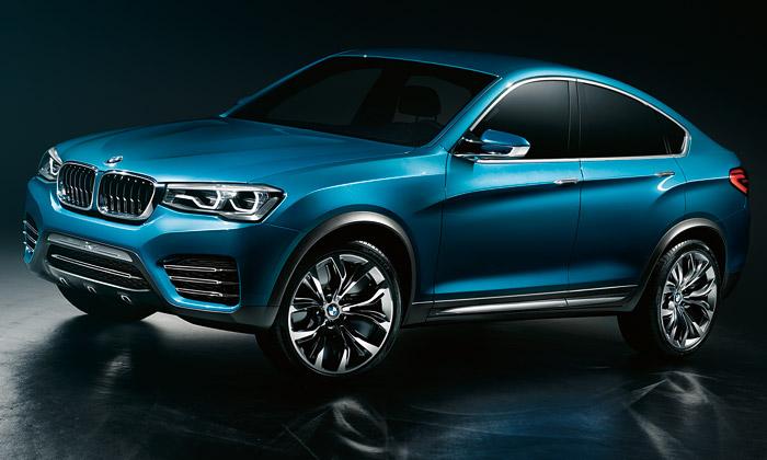 BMW X4 jekoncepční verze menšího crossoveru