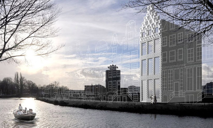V Amsterdamu staví první 3D tištěný dům nasvětě