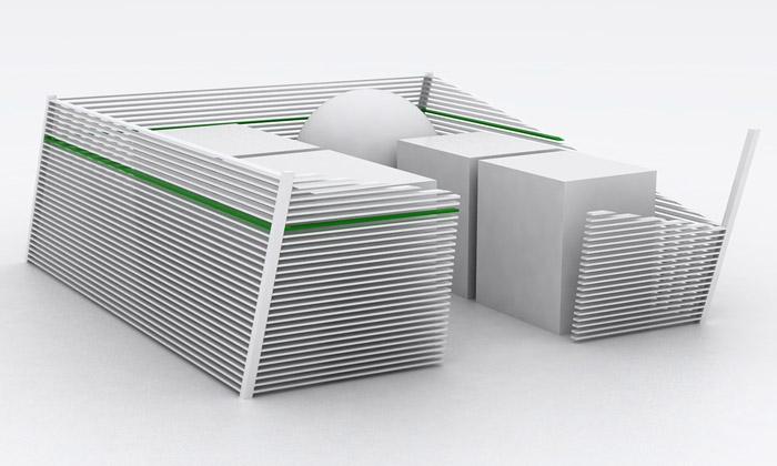 Chrudim má nová stání pro kontejnery odstudenta