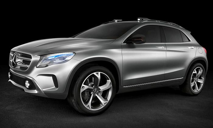 Mercedes-Benz GLA jekoncept crossoveru ztřídy A