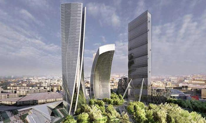 Zaha Hadid staví mrakodrap přímo vcentru Milána