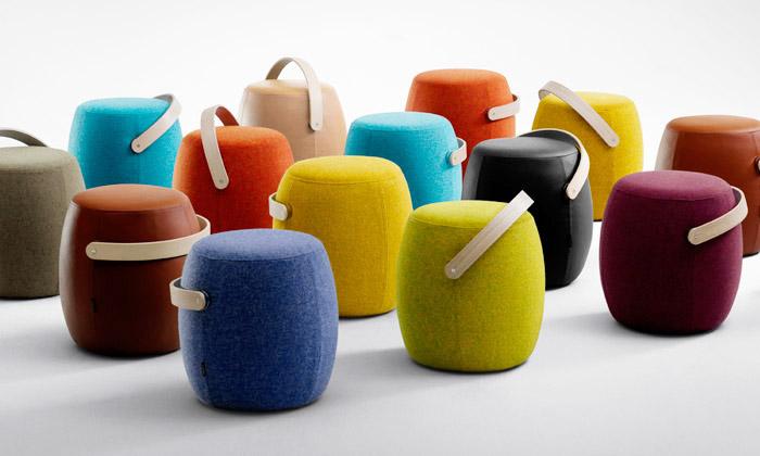 Offecct uvedl přenosné stoličky icirkusové stolky