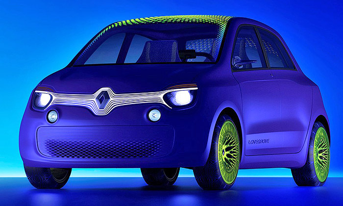 Ross Lovegrove navrhl futuristický Renault Twin'Z