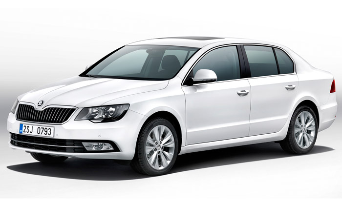 Škoda Superb dostal nový zmodernizovaný design