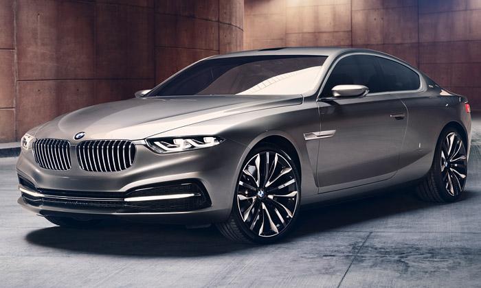 Studie vozu BMW Pininfarina Gran Lusso Coupé