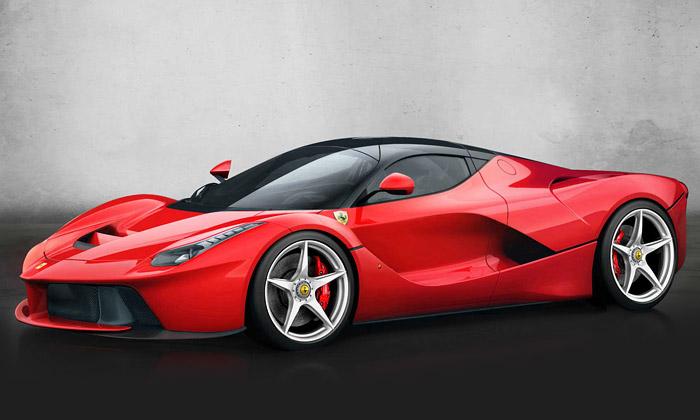 Ferrari ukázalo vůz LaFerrari shybridním pohonem