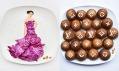 Hong Yi a její obrazy z jídla na talíři