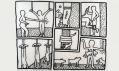 Keith Haring na výstavě The Political Line v Paříži