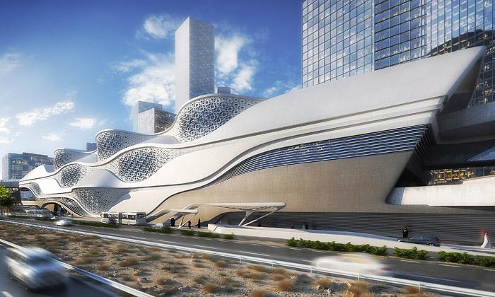 Zaha Hadid postaví vRijádu luxusní stanici metra
