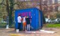 První kontejnery festivalu Kontejnery K světu