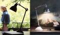 Rozmanité lampy značky Lampe Gras z DCW Editions