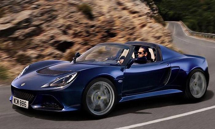 Přichází letní otevřená verze Lotus Exige SRoadster