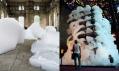 Michel Blazy a jeho umělecké instalace s pěnou