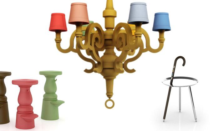 Moooi předvedlo nový barevný papírový nábytek