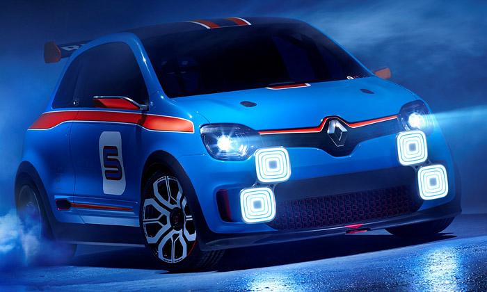 Renault představil malý alehký sporťák Twin'Run