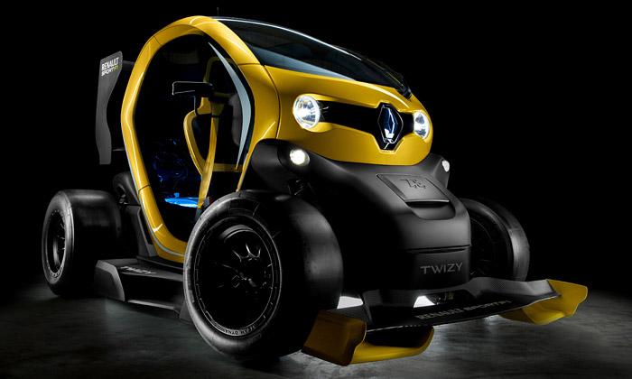 Renault Twizy F1 jeelektrická verze malé formule