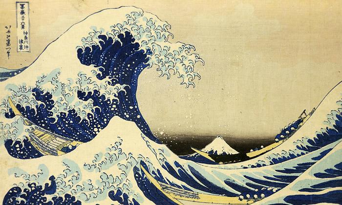 Brusel nabízí retrospektivu slavných tisků Hokusaie