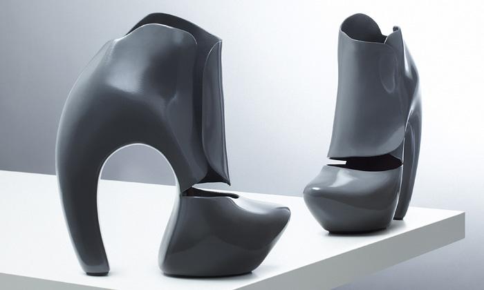 Boty z kolekce Instant Shoe od Pavly Podsedníkové