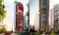 Bytový dům Ferra v Singapuru v návrhu studia Pininfarina