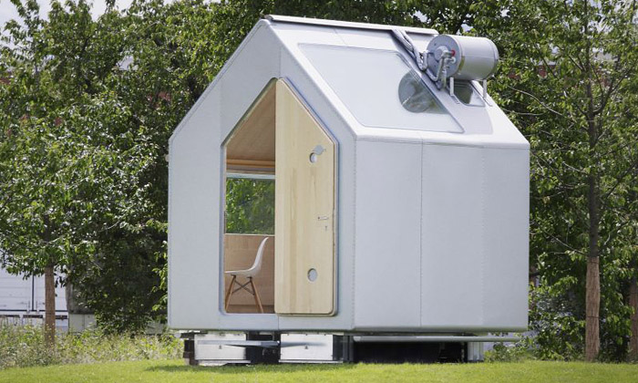 Renzo Piano navrhl pro Vitru malý domek Diogene