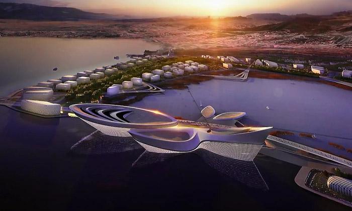 Zaha Hadid navrhla pro İzmir areál naExpo 2020