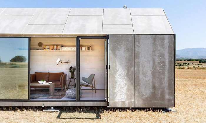 Ábaton navrhli přenosný dům postavitelný za den