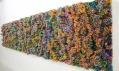 Francesca Pasquali a její různě velké instalace z brček