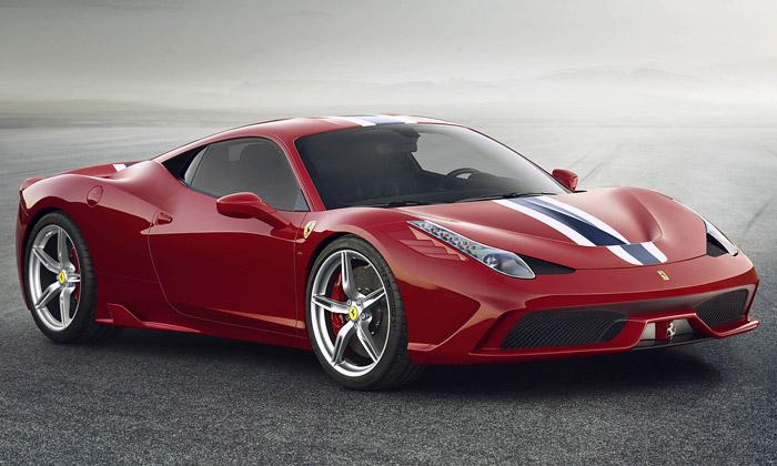 Ferrari uvádí ještě sportovnější model 458 Speciale
