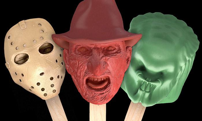 Stoyn vyrábí zmrzliny stvářemi zhororových filmů