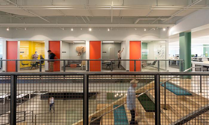 Studio O+A navrhlo stylové kanceláře pro Evernote