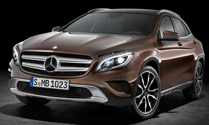 Mercedes-Benz GLA jekompaktní dynamické SUV
