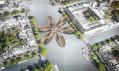 Most ve tvaru tulipánu pro Amsterdam od MLBS Architects