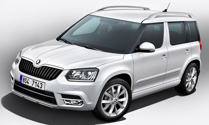 Škoda ukázala modernější design SUV modelu Yeti