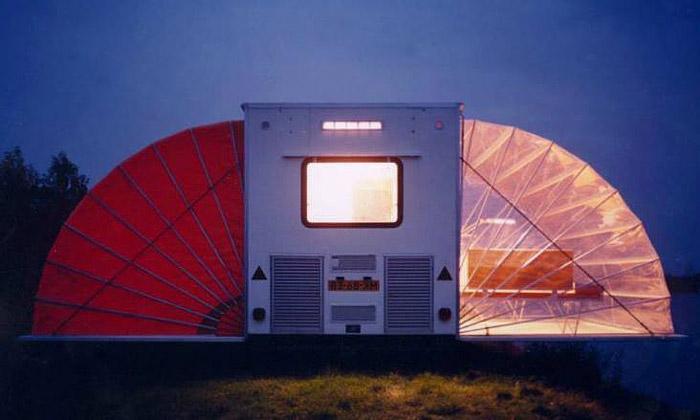 Amsterdam nabízí ubytování vezvláštních obydlích