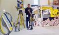 Roy Lichtenstein v ateliéru