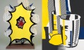 Roy Lichtenstein - Small explosion a Before the Mirror