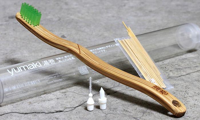 Nové zubní kartáčky Yumaki sevyrábí izbambusu