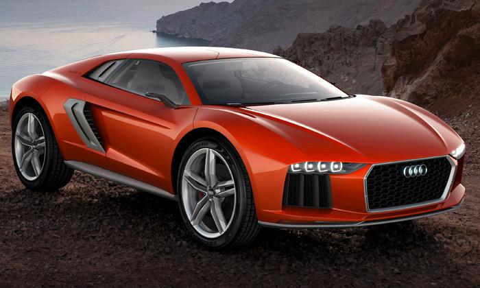Audi představilo koncept crossoveru Nanuk Quattro