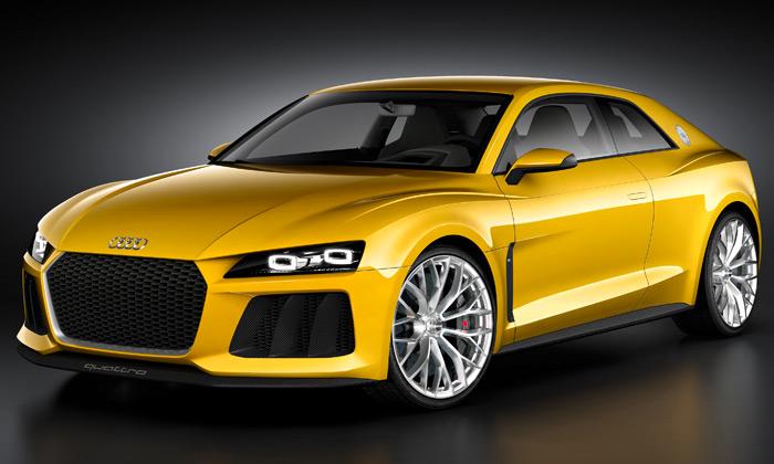 Legendární Audi Sport Quattro ožívá jako koncept