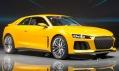 Audi Sport Quattro Concept na autosalonu ve Frankfurtu