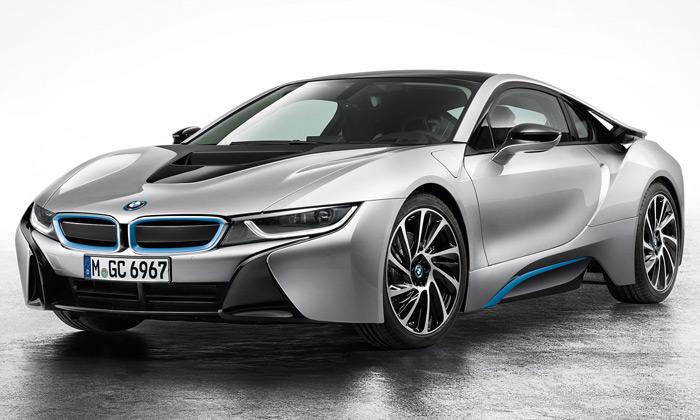 BMW i8 jeekologický sporťák sfuturistickými tvary