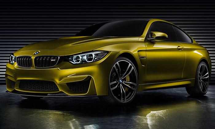 BMW představilo koncept M4 semotivním designem