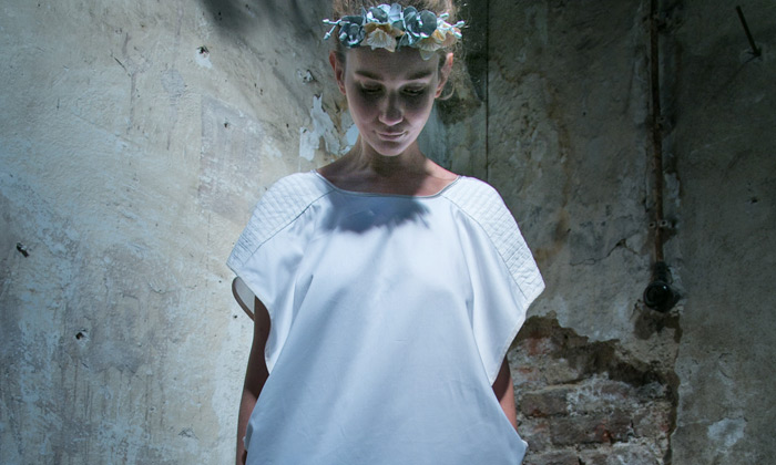 Ela Jediová uvedla krunýřovou módní kolekci Guscio