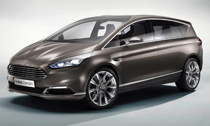 Ford ukázal koncept chystaného MPV jménem S-Max