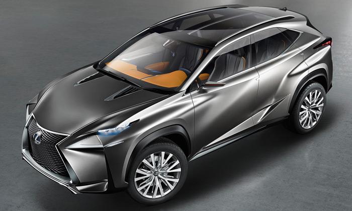 Lexus ukázal koncept svého SUV budoucnosti LF-NX