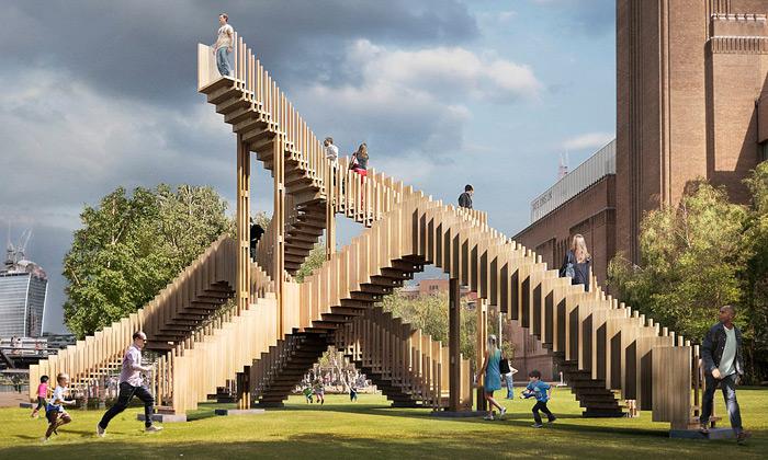 London Design Festival nabízí inekonečné schody