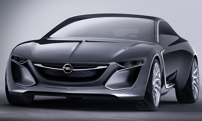 Opel představil vizionářský koncept vozu Monza