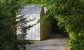 Malý domek jako Polygon Studio nedaleko New Yorku