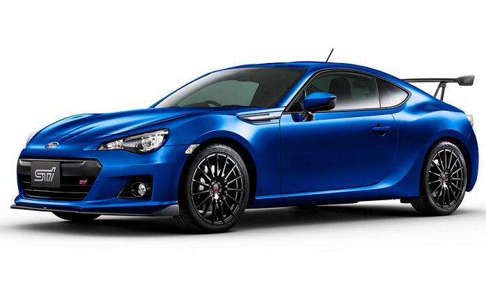 Subaru BRZ tS jelimitovaná edice jen pro Japonsko