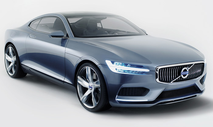 Volvo mění design aukazuje vzorové Concept Coupé